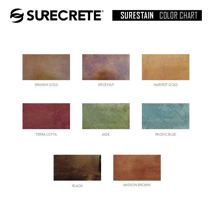 surecrete color chart