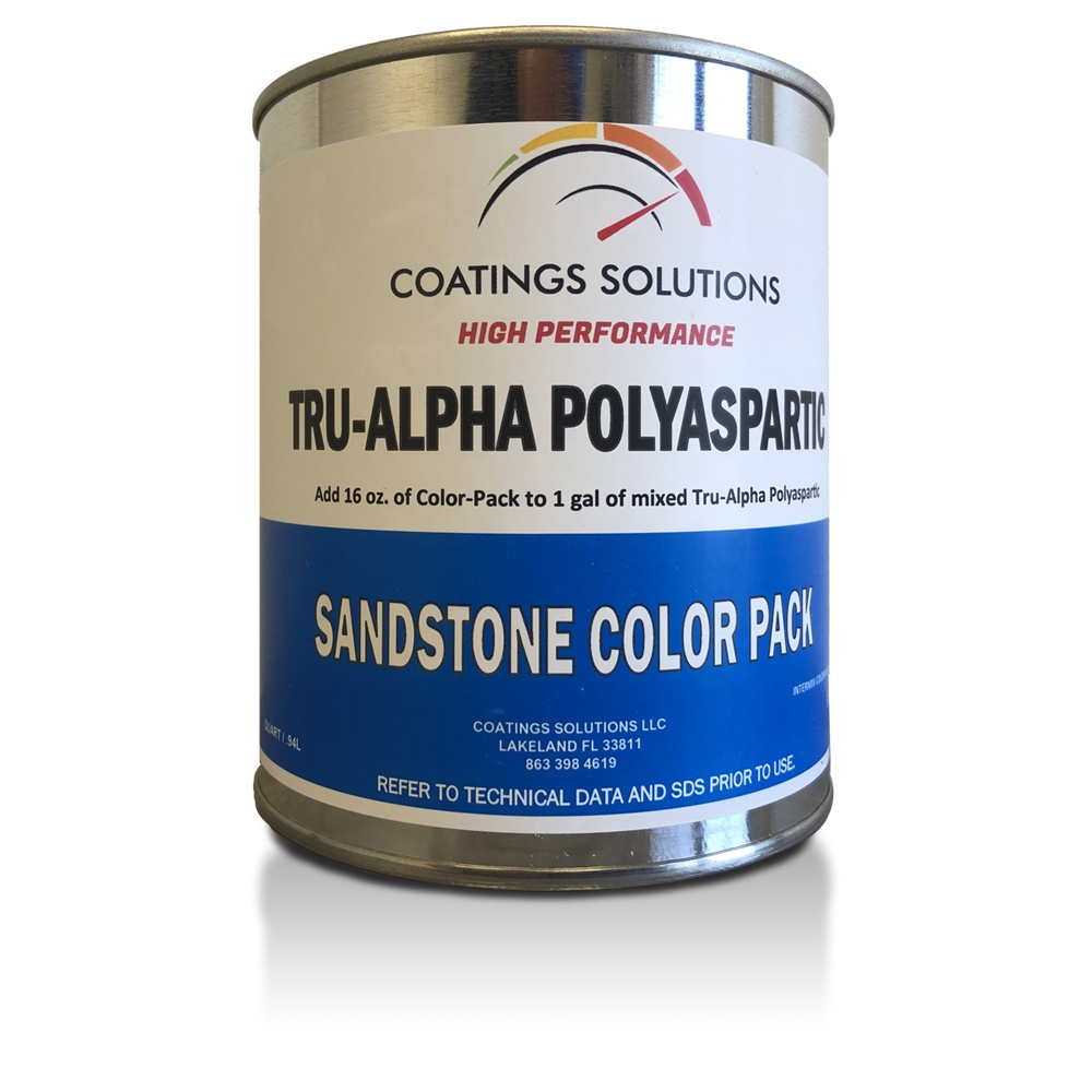 Tru-Alpha Polyaspartic + Polyaspartic Color Pack
