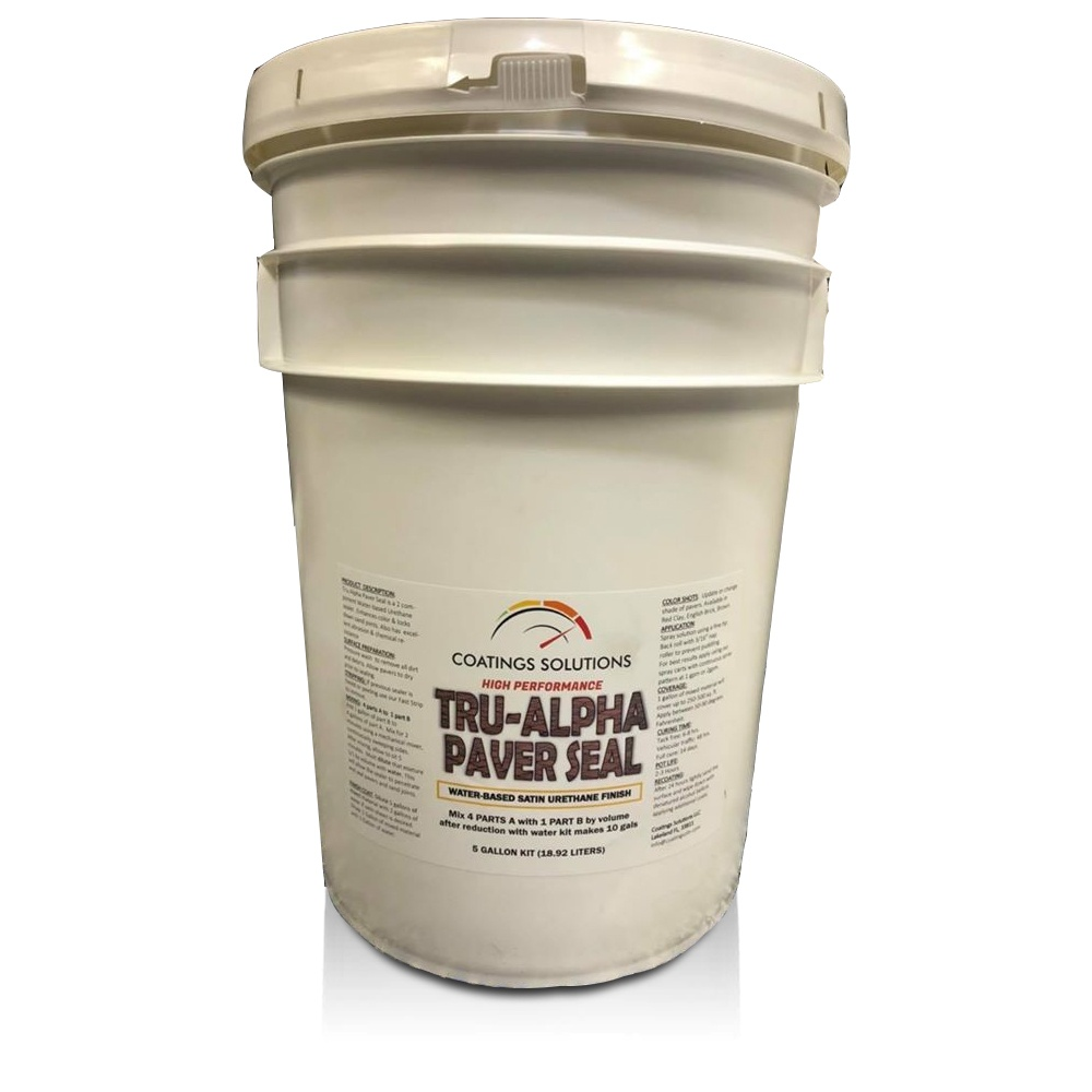Coating Solutions-TruAlpha-Paver-Sealer